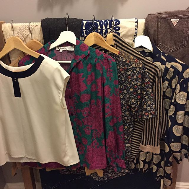 More clothes for the sale tomorrow