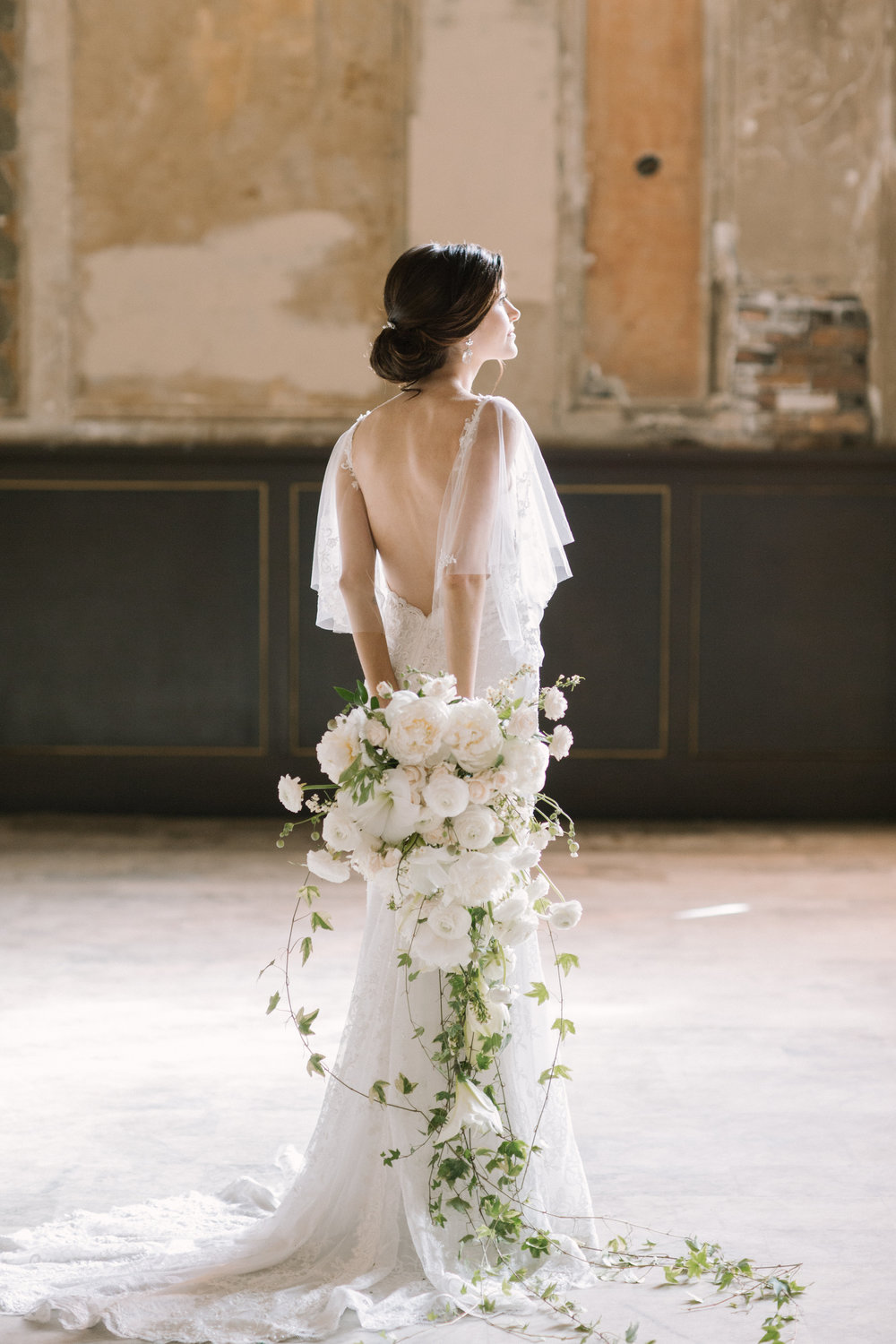 A classic bridal bouquet. This was a delight to design.