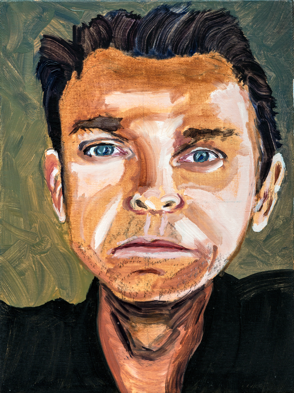 "Karl | oil on canvas 12"" x 9"""