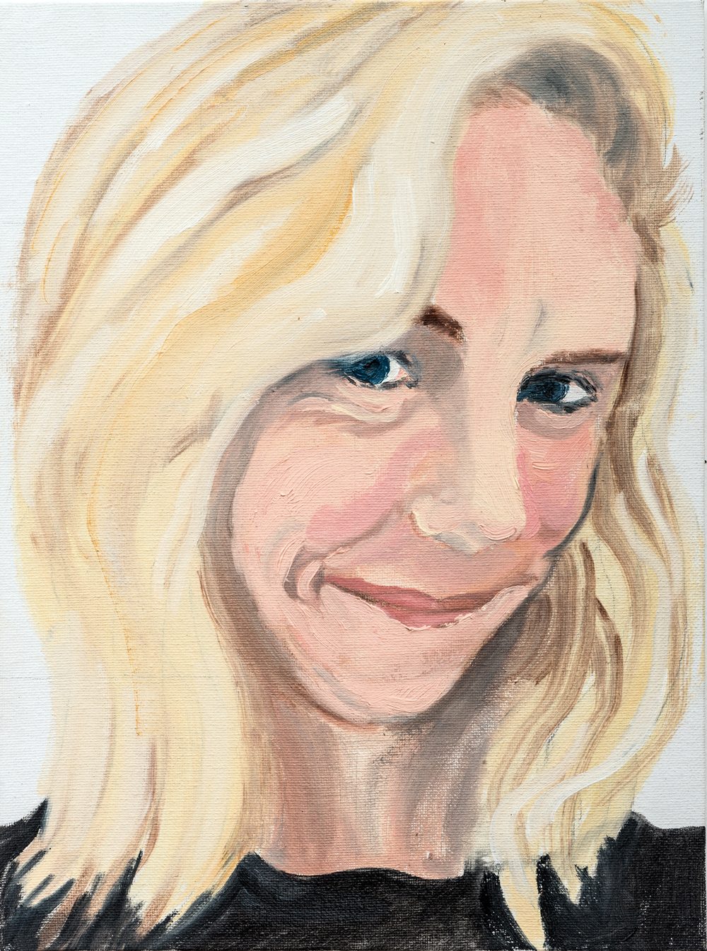 "Susan | oil on canvas 12"" x 9"""