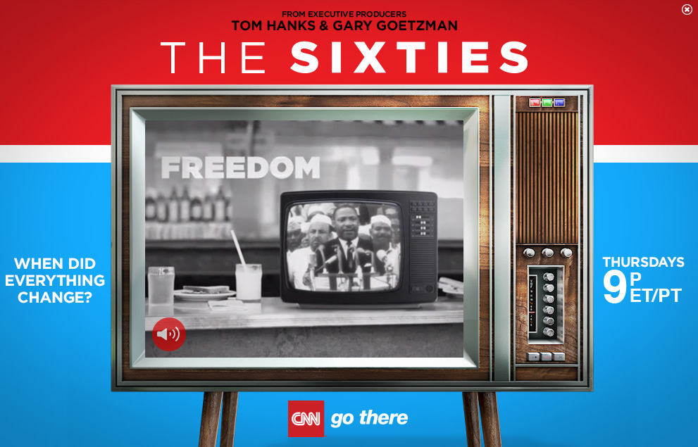 CNN - The 60s - Atlantic Billboard Concept