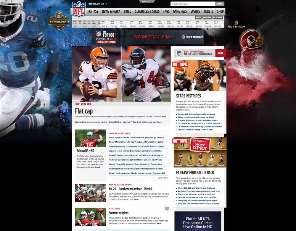 NFL - Preseason 2015- Skin