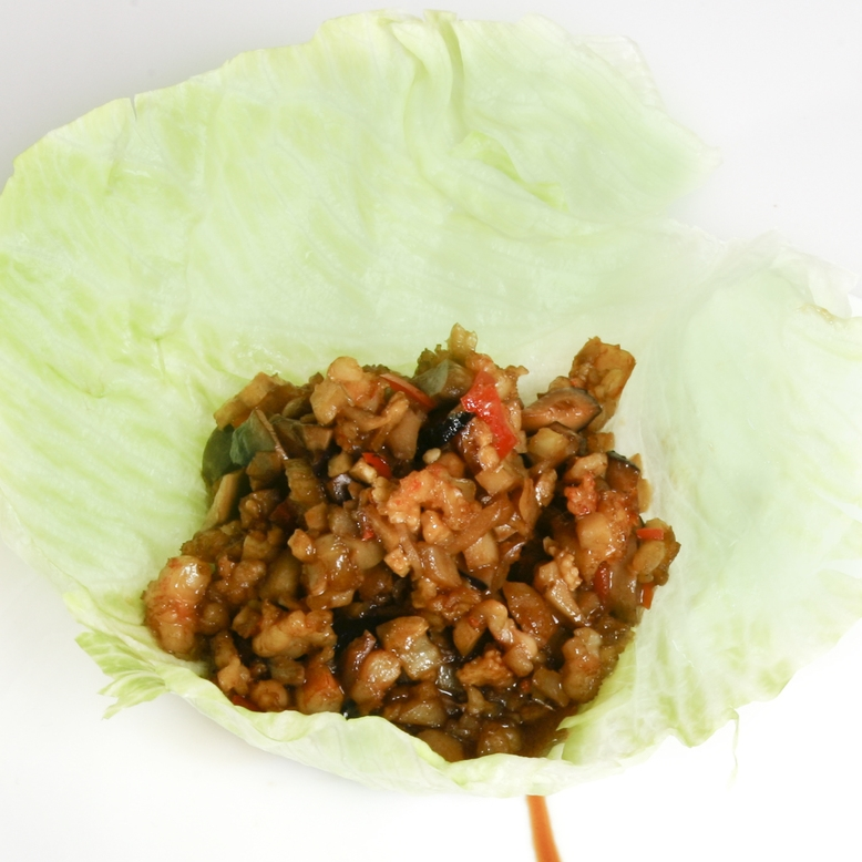 Shrimp Lettuce Wrap
