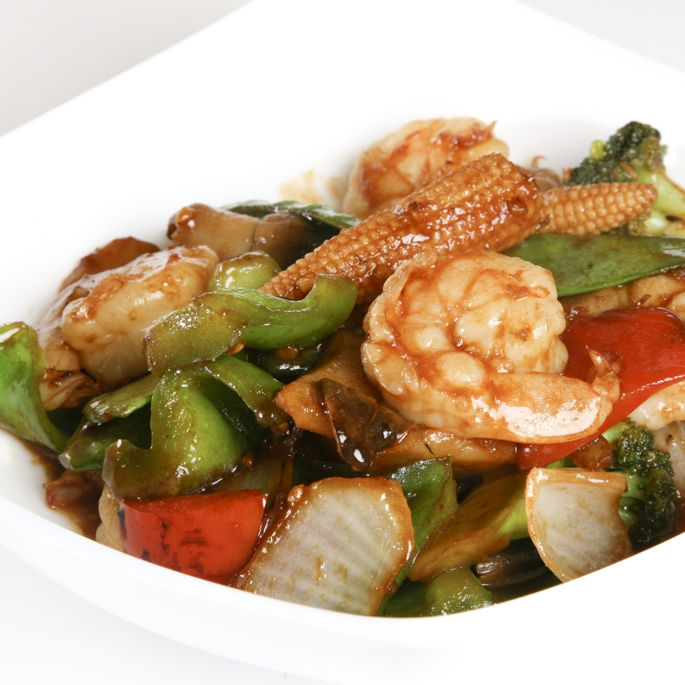 Shrimp with Mixed Vegetables