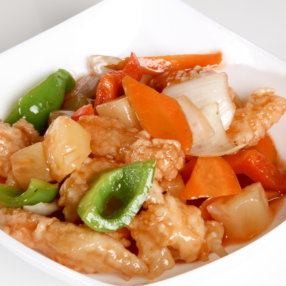 Sweet & Sour Fish Cube