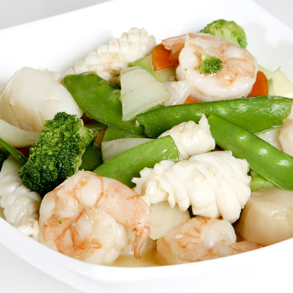 Seafood with Mixed Vegetables