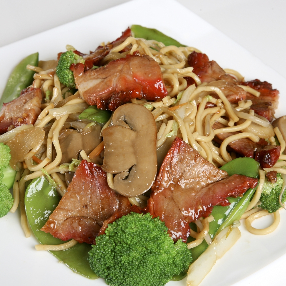 Roasted Pork Lo Mein