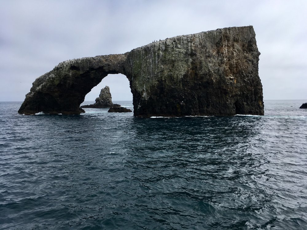 Anacapa Island is one of the most iconic and visited islands. The cheerful melody is played by a string quartet with two french horn which contribute to the foghorn ambience.