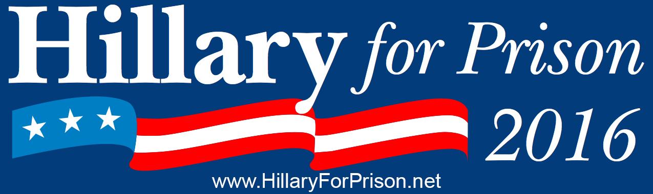 Bilderesultat for Hillary for prison