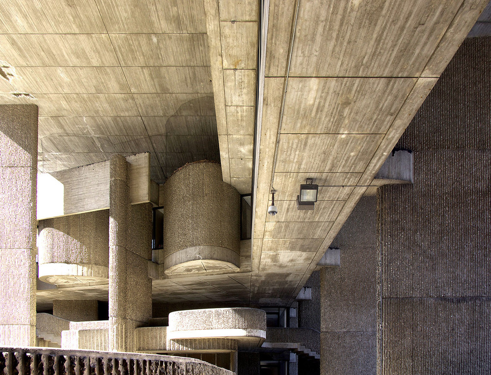 Paul Rudolph & Associates, Government Service Center, Boston, 1962-71. Photo: Mark Pasnik.