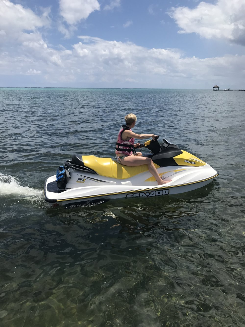 Jet Skiing in Cayman
