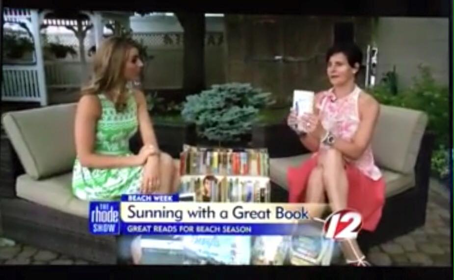 What if I Fly's  small screen debut on  The Rhode Show . July 8, 2015 Great reads for beach season segment.   http://wpri.com/2015/07/08/great-reads-for-beach-season/