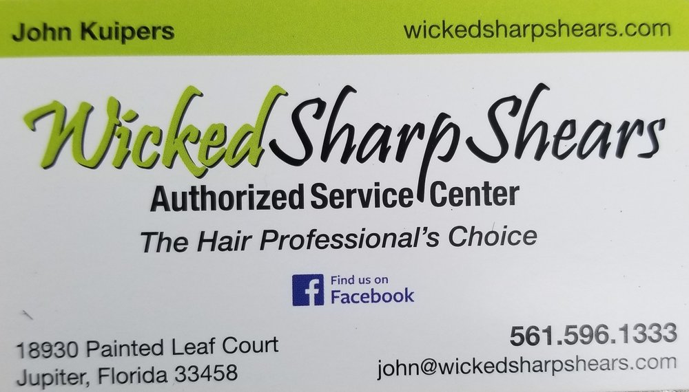 Welcome to the Neighborhood.... - An authorized service center specializing in sharpening, repairing, and restoring fine tools.  So to all barbers and stylist looking to get your shears sharpened, call John.  He comes to you!