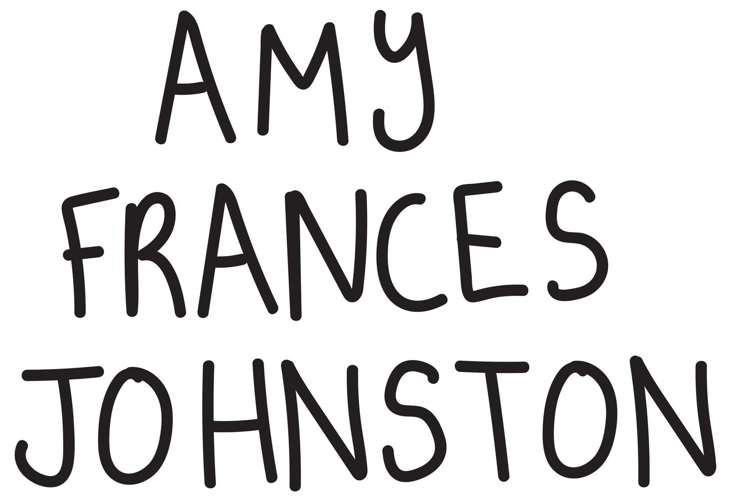 AMY FRANCES JOHNSTON