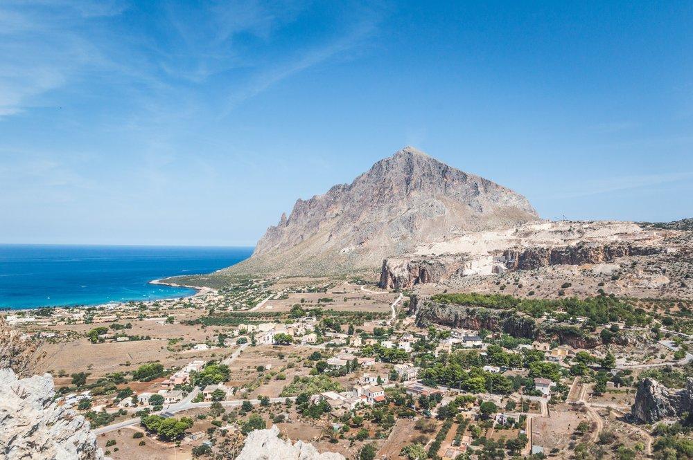 coastal Sicily.