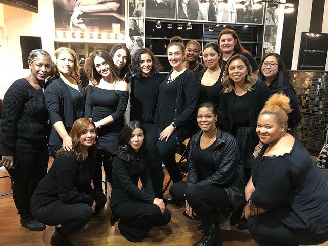 These new #glamlabwarriors mean business! Watch out world!! #makeupclass #makeupschool #makeupteacher #makeupeducation #makeup #makeupartist #promakeupartist #professionalmakeupartist #mua #promua #chicago #chicagomua #chicagomakeupartist #freelance #hustle #workflow