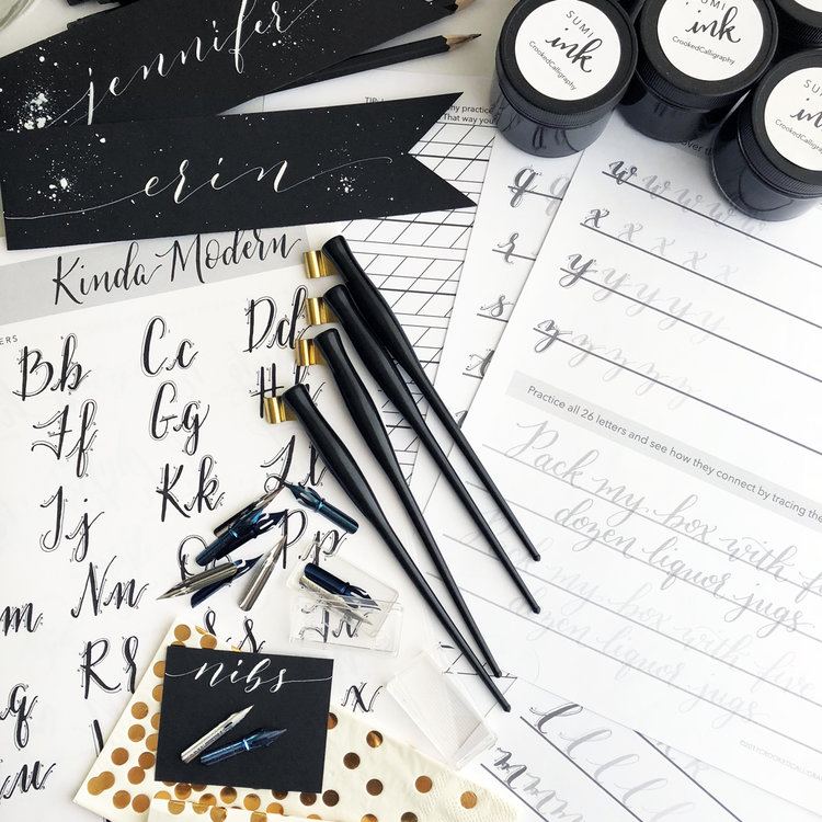 Modern Calligraphy Workshop With Shinah Chang