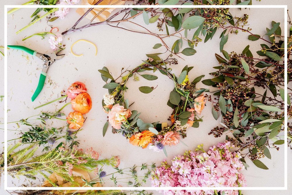 BRIDAL - We love celebrating love! Whatever your style, boho, floral, minimal, we got you covered with the perfect bridal crafts!