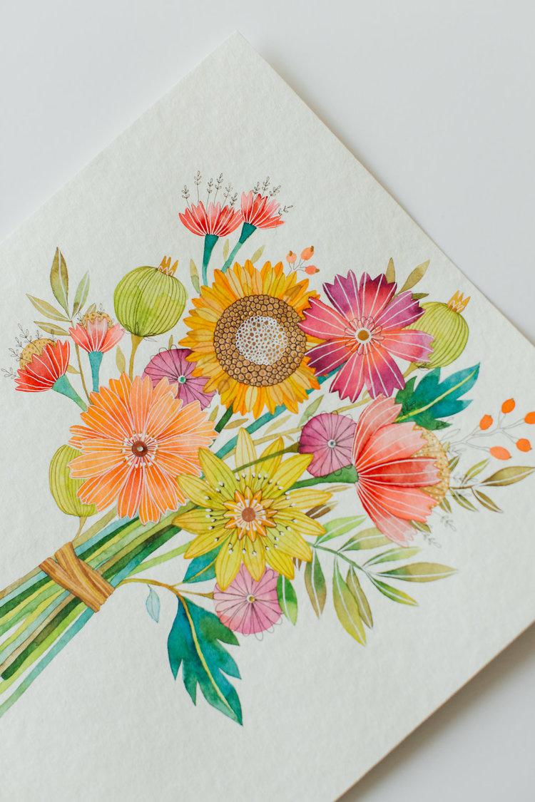 Creative Watercolor By Ana Victoria Calderon Workshop Book Release