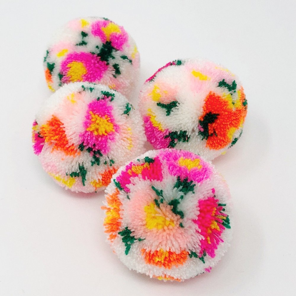 The Neon Tea Party Floral Pom Pom Workshop 1.jpg