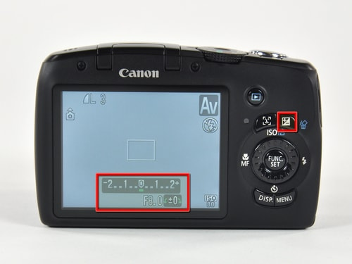 Modifying the exposure compensation.