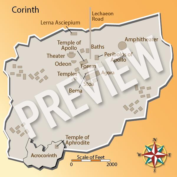 Corinth Bible Cities