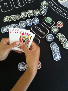 The player can be paid for a SUPER hand and an Instant Cash Payout hand with one 1st five-card combination