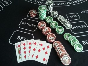 Straight Flush - $20 Ante pays $4,000