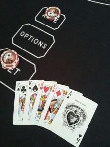 5 card hand K,K,K,K,A