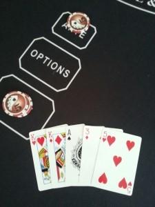 5 card hand A,K,K,3,5
