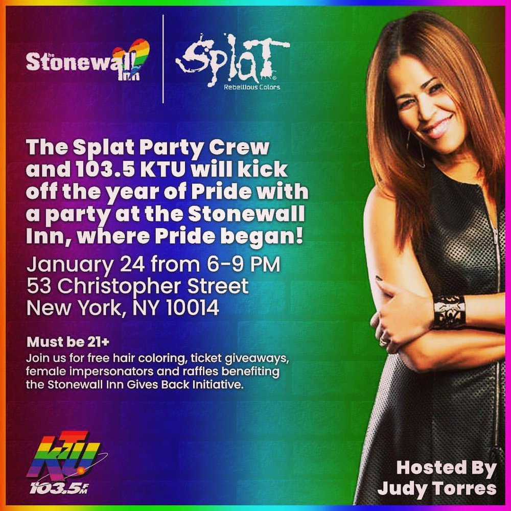 Splat and 103 5 KTU Hold Fundraiser to Benefit The Stonewall