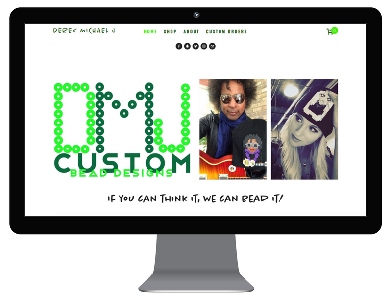 Derek Michael J - web design