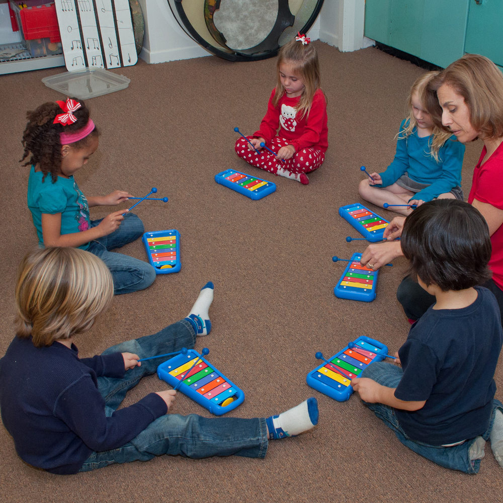 Foundations, ages 5-7   Prepares kindergarten and first-graders for instrumental instruction through a multi-sensory approach that includes singing, playing, moving, listening, and writing.