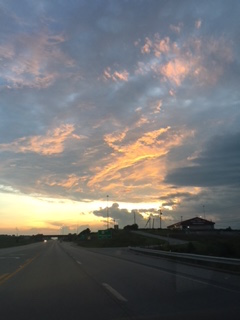 The sky on my way home one day this week. God is so good!