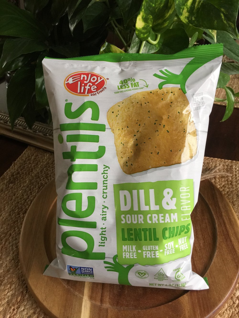 Dill and Sour Cream Plentils by Enjoy Life -