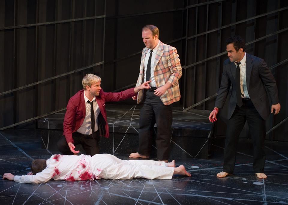 Casca - JULIUS CAESAR, TITAN Theatre Company