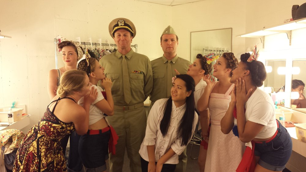 Backstage Fun - SOUTH PACIFIC, Utah Shakespeare Festival