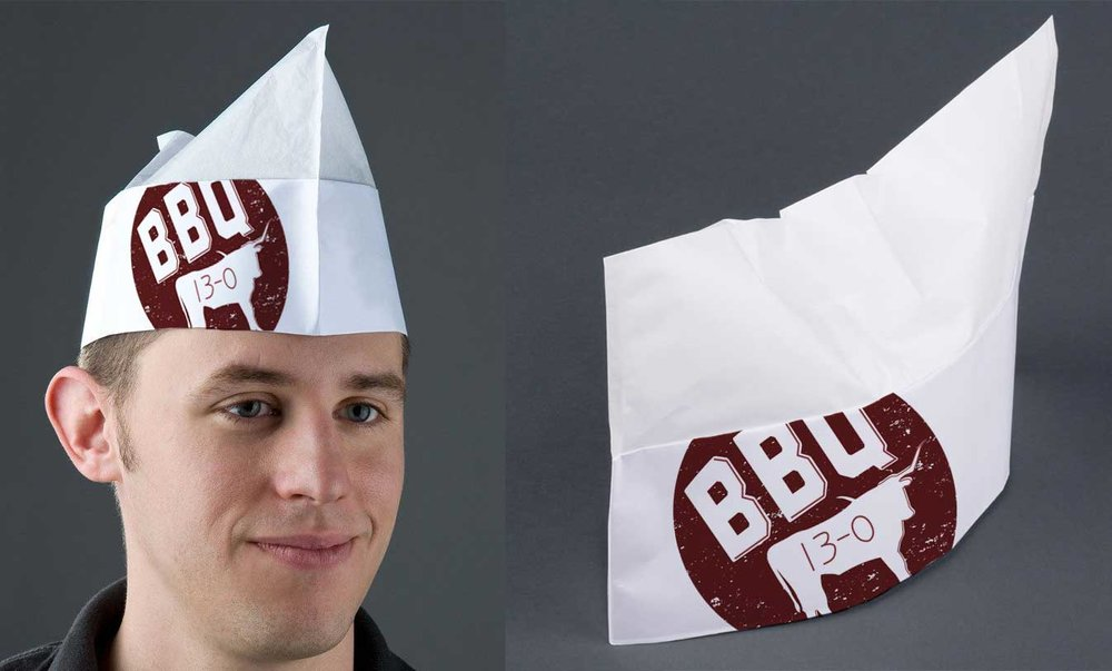 Butcher Paper Hat