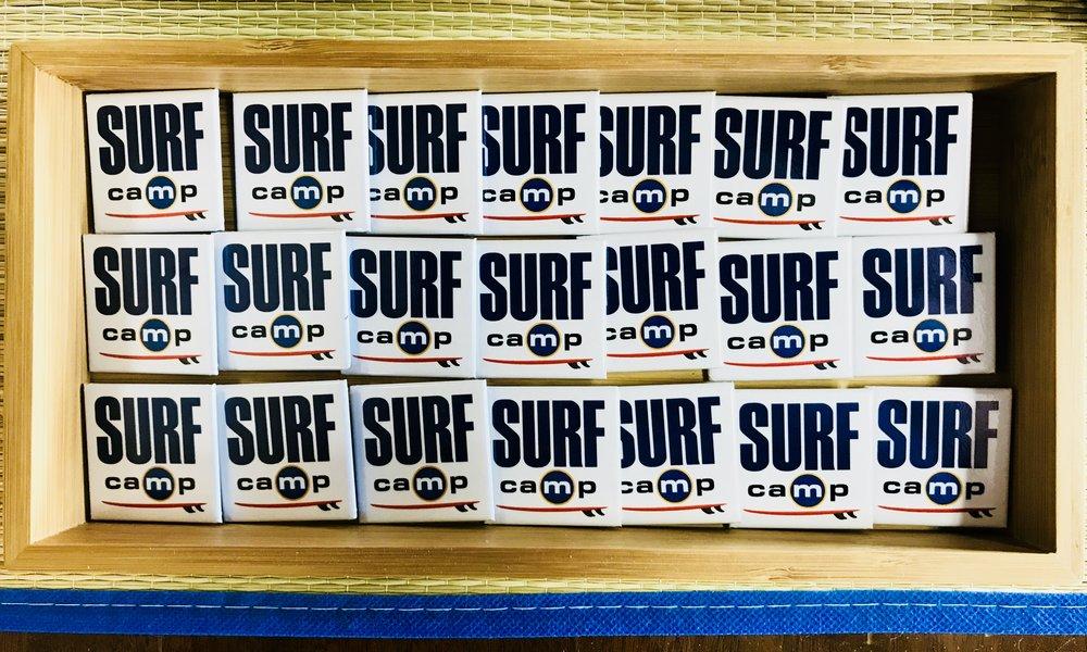 surf camp pins