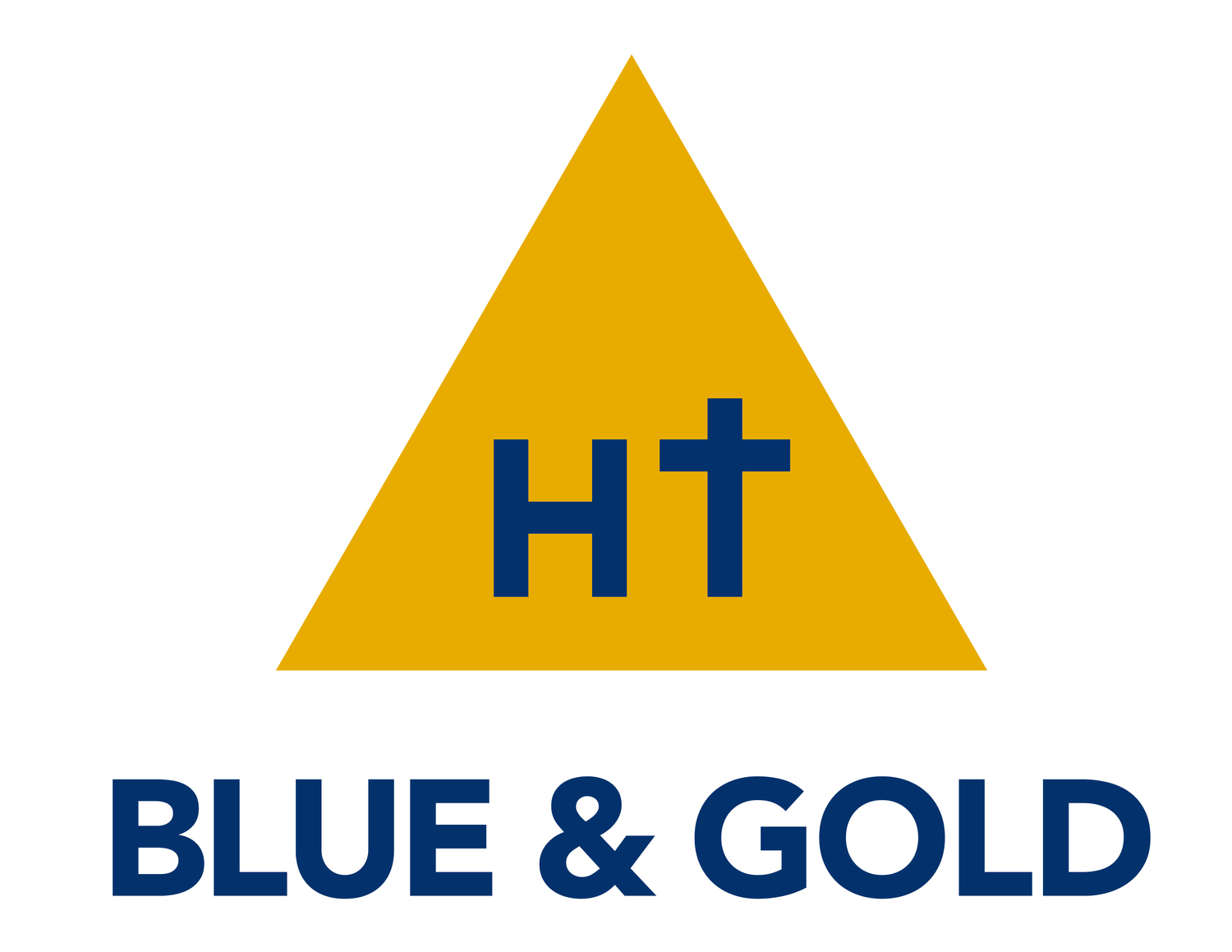 Holy Trinity Blue & Gold