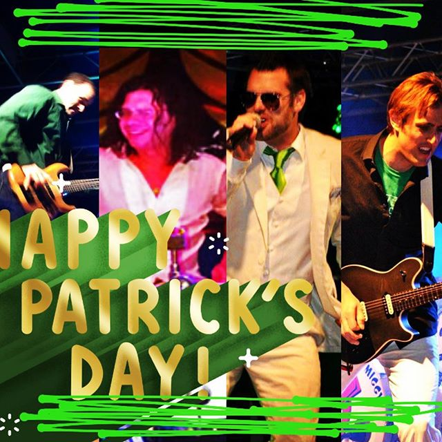 Gentlemen wear green too... #happystpatricksday #irishdrummer #kissuswehaveanirishdrummer #stpatricksday