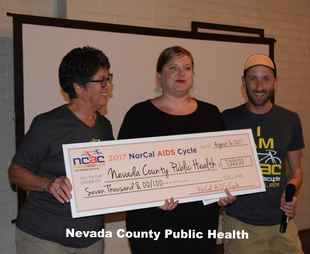 Nevada County Public Health Dept. HIV/HCV Rapid Testing Program