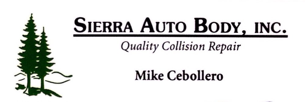 Sierra Auto Body of Nevada County, Inc.