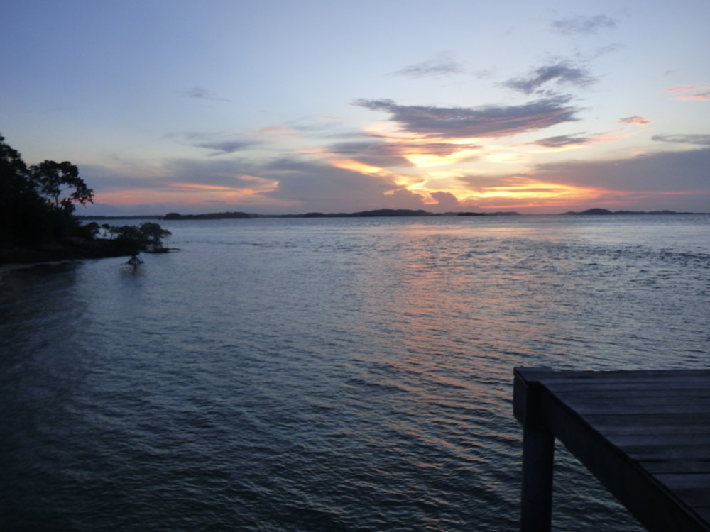 Sunset at Telunas