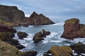 St. Abbs Reserve on the coast