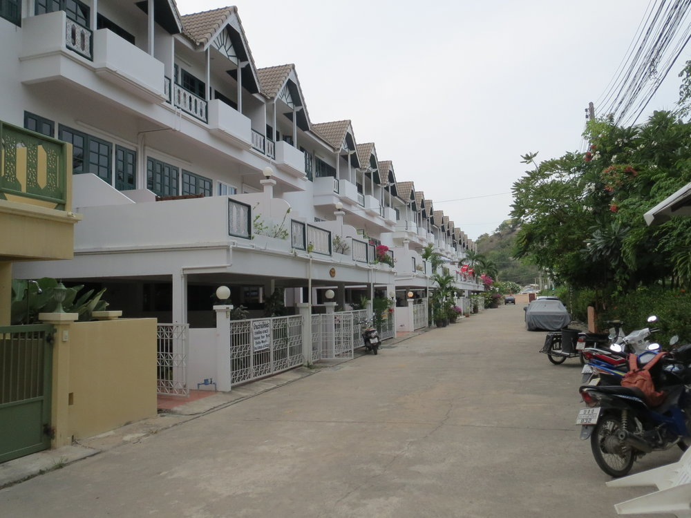 Ba'an Thai Villas are located on a private soi - a short walk to the beach