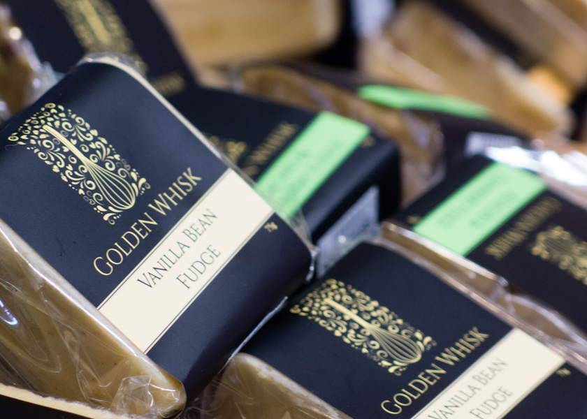 Golden Whisk Gourmet Fudge