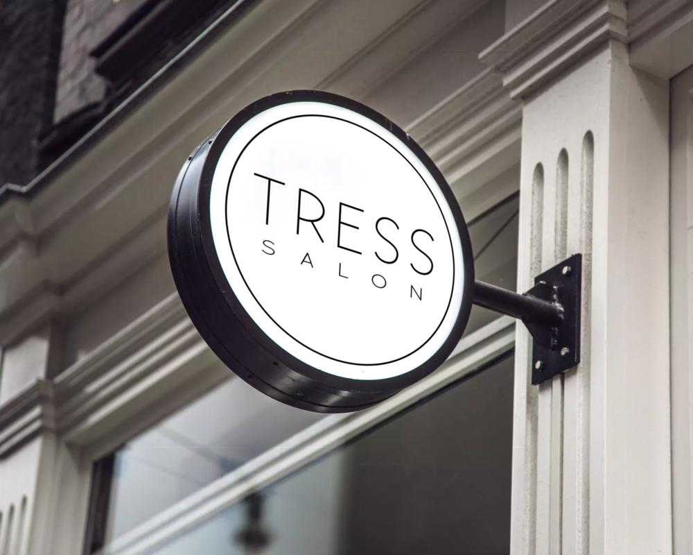 Tress Salon - Logo Design + Branding