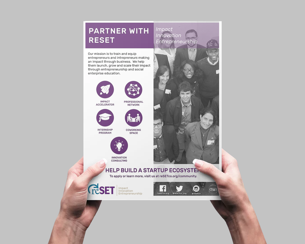 reSET - Marketing Collateral