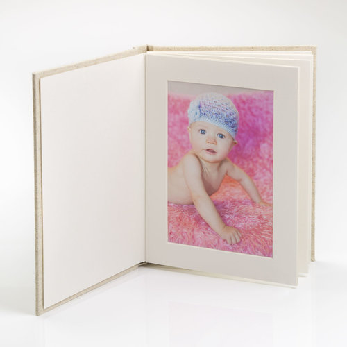 6 Photos 5x7 Vertical Matted Photo Album The Photographers